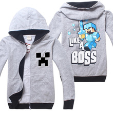 Buy 2018 Spring-autumn Minecraft Cartoon Outwear Children's Clothing Sweatshirts Baby Boys Girls Hoodies FNaF Long Sleeve T Shirts for $8.73 in AliExpress store