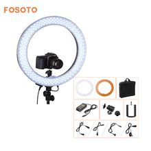 "fosoto Camera Photo Video 18""RL-18 240 LED Ring Light 5500K 55W Dimmable Photography Ring Video Light lamp for Camera Fill Light(China)"