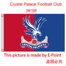 England Crystal Palace FC decoration Flag A 3ft*5ft (150cm*90cm)(China)