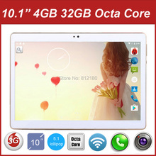 2017 New Android 5.1 OS 10 inch tablet pc Octa Core 4GB RAM 32GB ROM 8 Cores 1280*800 IPS GPS WiFi Tablets 10 10.1