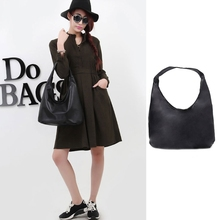 Buy THINKTHENDO 2017 Fashion Women Lady Faux Leather Handbag Shoulder Bag Black Purse Hobo Messenger Tote Solid Zip Soft Bags for $5.48 in AliExpress store