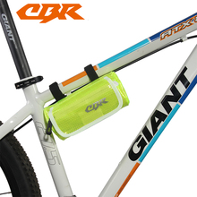 CBR Outdoor Oval Cycling Bike Tube PVC Bag Waterproof Bike Accessories Bicycle Repair Tool Bag Bicycle Frame Front Pouch Bolso