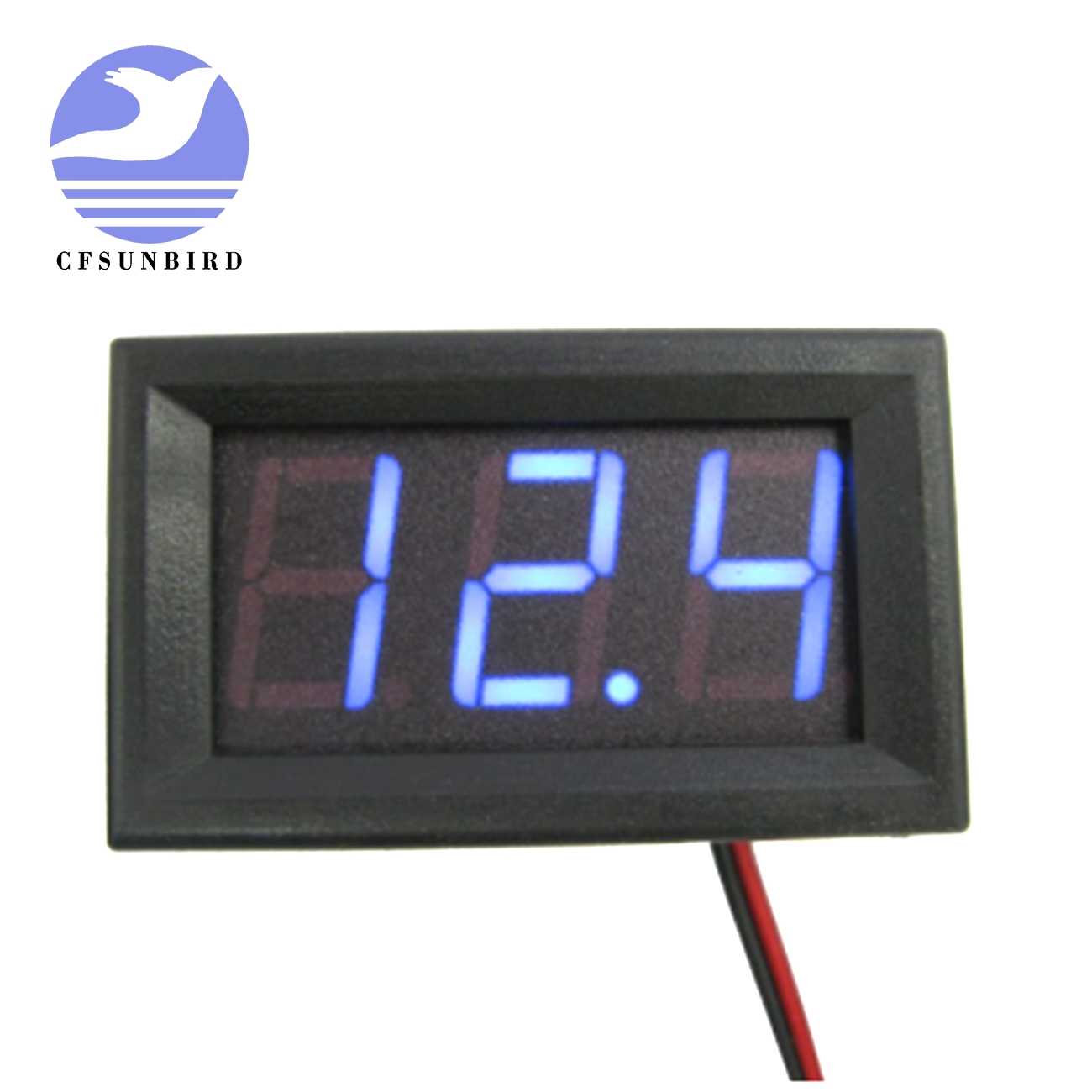 CFsunbird Mini for DC 4.5V-30.0V Voltmeter High Quality 0.56 inch LED Digital Voltmeter suitable for different occasions(China)