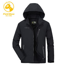FIELD BASE Men Jacket Military Army Cargo Field Spring Summer Autumn Men Jacket Coats Casual Jacket Men Windbreaker Breathable(China)