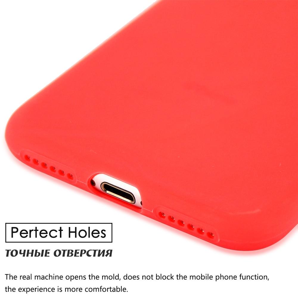 KIP71149_7_Matte Pure Color Soft TPU Case for iPhone 7