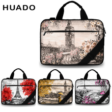 Canvas laptop bag 15.6 13.3 17.3 waterproof laptop shoulder bags for xiaomi air 13/macbook/hp/acer/lenovo drop shipping