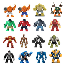 Single Sale Ninja Dogshank Building Blocks Bricks Max-dolls lepin 70604 hulk Tiger Widow Widow Island Kids Toys