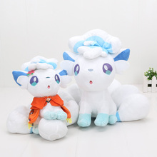 20-27cm Anime Pocket doll plush toys Alola Vulpix Stuffed doll(China)