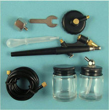 Make Up Paint Airbrushing Airbrush Spray Gun Air Brush Hose Art Paint Set New