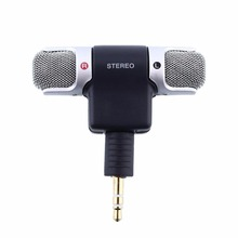 High Quality 3.5MM Condenser Microphone shock Stereo Clear Voice Mini Microphone for Sony ECM-DS70p