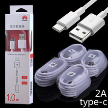 Original Huawei Honor 8 Charger Cable Usb 2.0 Type C Fast Charging Data Cable For Honor 9 p9 nova Smartphone(China)