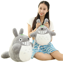 Sitting height 35cm lovely totoro plush Animals toys Stuffed doll High quality Kawaii Movie character cartoon soft kid toys gift(China)