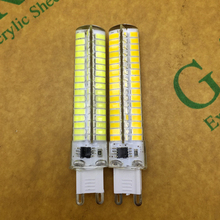 New Dimmable G9 LED Lamp 220V 110V 10W High Quality Chandelier Lights CREE LED light 360 degree led spotlight lamps 5pcs/lot(China)
