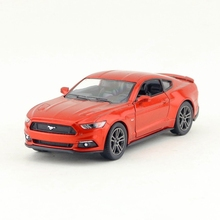 Free Shipping/KiNSMART Toy/Diecast Model/1:38 Scale/2015 Ford Mustang GT/Pull Back Car/Educational Collection/Gift For Children(China)