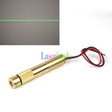 10mw 30mw 50mw 100mw 150-200mw Focusable 532nm Green Dot Line Cross Laser Module