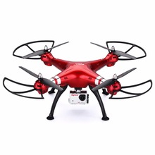Original Syma X8HG Drone with Camera RC Quadcopter with 8.0MP HD Camera RC Helicopter Headless Model with LED Light Dron(China)