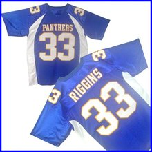 Friday Night Lights Tim Riggins #33 Dillon High School Football Jersey Stitched Sewn-Blue Mens S-XXXL