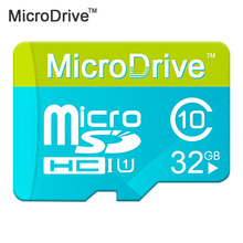 Micro Drive Good Quality Blue/Green Micro SD Card 8GB/16GB/32GB Memory Card Class6-10 TF card memory stick white box package