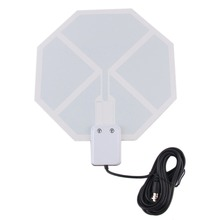 in Stock! Ultra Thin Lightweight Flat Digital Indoor TV 1080P HD Television Antenna New Arrival