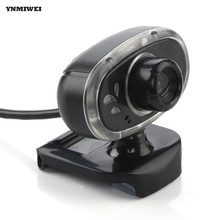Webcam USB 2.0 Desktop Camera High Definition Night Version Web Cam With Sound-Absorption MIC For Notebook Computer Cameras