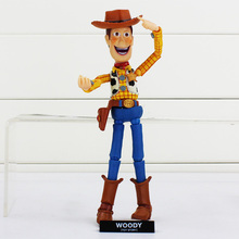 Toy Story Woody Series NO 010 SCI-FI Revoltech WOODY PVC Anime Action Figure Toy Collection Model Toy
