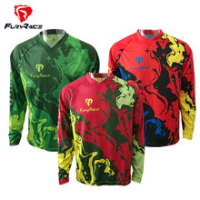 Fury Race Mens MTB Jersey Downhill Cycling Clothing 2017 DH Bicycle Bike Shirt Motocross Jerseys Motorcycle Long Sleeve Clothes