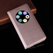 Asuwish Smart View Flip Cover Leather Case For LG G3 G3mini S Beat G3mini D724 G3 G 3 D855 D850 Phone Case Sleep Wake Shell