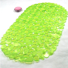 Green Hot Memory PVC Bath Mat Absorbent Slip-resistant Pad Bathroom Bath Mat Anti Slip  Anti-Skid Floor Carpet Bathroom Mats FHD