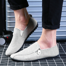 Buy FOORAABO Fashion 2017 Mens Summer Canvas Shoes Flat Men Casual Shoes Slip Lazy Male Flats Shoes Cheap Moccasins Men Loafers for $16.92 in AliExpress store