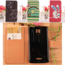 ABCTen Lovely Design Card Slot Style Cellphone Case For Medion Life P5001 MD 98664 Flip PU Leather Cover Protection Skin