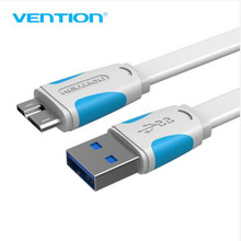 Vention Super Speed USB 3.0 A to Micro-B Cable Data Transfer Cable For Portable Hard Drive Galaxy Note3 Galaxy S5(China)