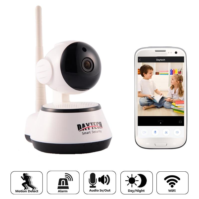 Daytech WiFi IP Camera 720P Night Vision Home Security Camera Wireless P2P Wi-Fi Surveillance Camera Infrared CCTV DT-C8815<br>