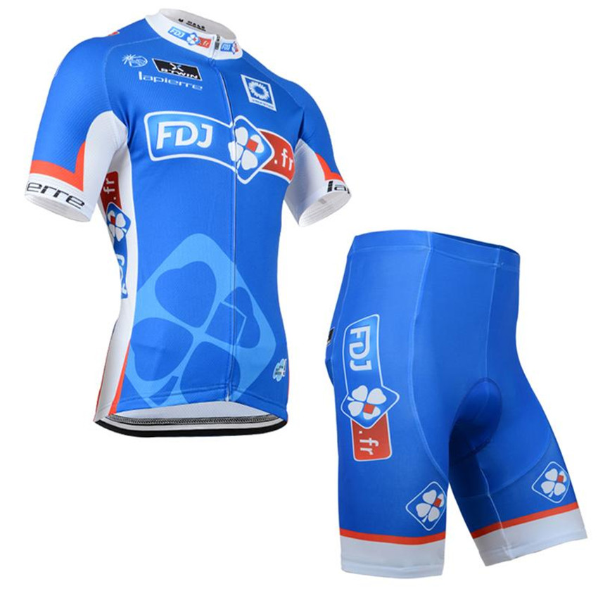 FDJ Tour de France 2017 Cycling Jersey Ropa Ciclismo Bike Clothing Short Sleeve Summer Bicycle Cycle Sportwear china Clothes set<br><br>Aliexpress