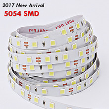 2017 New Arrival 5054 SMD Led Strip Light Non-waterproof Led Tape 60Leds/m DC 12V Much Brighter Than 5050 5630 3528 Warm White(China)