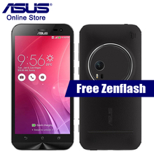 ASUS Zenfone Zoom ZX551ML Leather Cover Smart Cellphone 4GB 128GB 5.5 Inch Intel Atom Z3590 2.5GHz NFC Quad Core 13.0MP Camera(China)