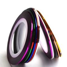 1 x Fashion 1mm/2mm/3mm Nail Rolls Striping Tape Line Decorations Nail Sticker DIY for Nail Art UV Gel Polish Tips BENC124