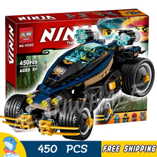 45Ninja New 10582 Samurai VXL DIY Masters Spinjitzu Model Building Blocks Bricks Kids Toys Sets Compatible lego - Baby Rhythm store