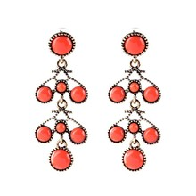 China Jewelry Best Seller New Brinco Party Fashon Tide Brand Designer Ethnic Earrings Factory Wholesale