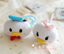 New Arrival 2016 Tsum Tsum Donald Duck Plush Toys Stuffed Dolls For Girls Smartphone Cleaner Small Pendan