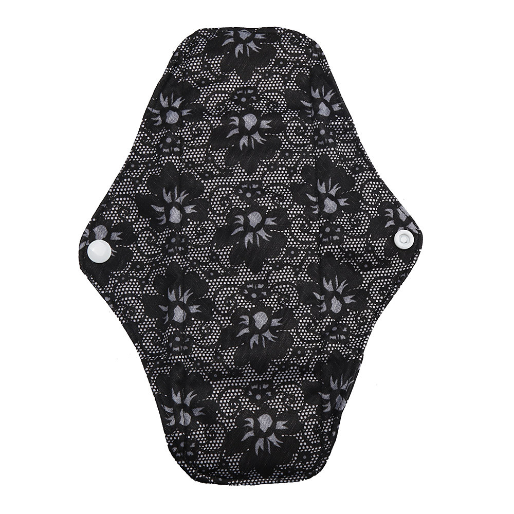 1pc New Arrival Women's Reusable Bamboo Cloth Washable Menstrual Pad Mama Sanitary Towel Pad Pretty Feminine Hygiene Product 32