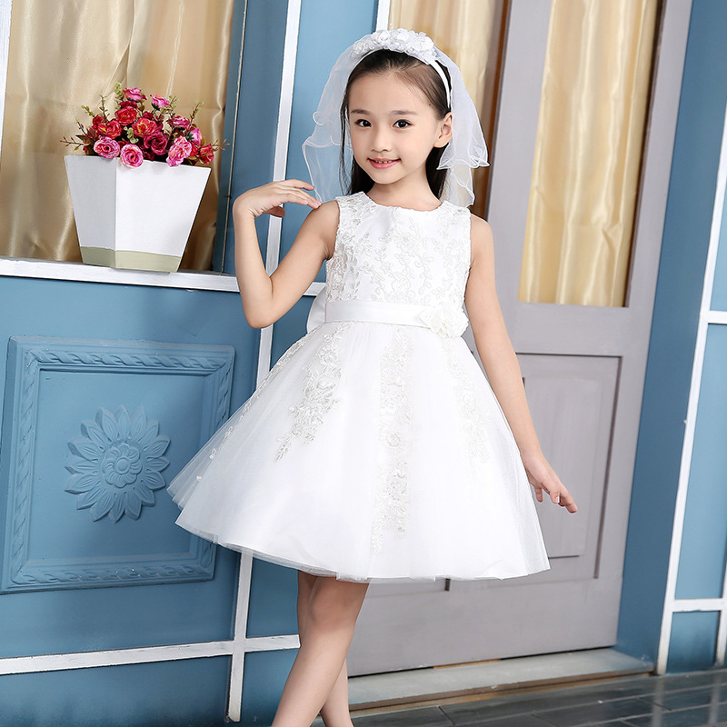 YNB 6Pieces Wholesale childrens Party dress high quality kids evening dresses for girls formal A-line dress girl summer clothes<br>
