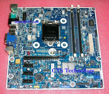 Free shipping for Genuine ProDesk 400 G1 MT PC mainboard for MS-7860 V1.0 718412-001 718772-001 chipset H81 1150 work perfect
