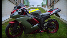 Custom Fairing Kit for KAWASAKI Ninja ZX6R 636 07 08 ZX 6R 2007 2008 zx6r ABS green red Motorcycle Fairings set+7gifts KT19(China)