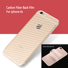 Big Sale Carbon Fiber Back Soft Screen Protector Film  For Apple iPhone 6s Anti-fingerprint Protective Transparent Durable Guard