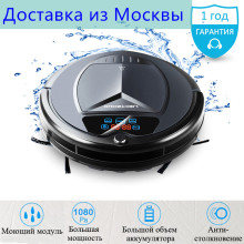 2017 LIECTROUX B3000 PLUS Robot Vacuum Cleaner with Wet dry,Water Tank,VirtualBlocker,Self-Charge,TouchScreen,UV,Schedule,Remote(China)