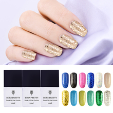 BORN PRETTY Nail Glitter Gel Polish Set 10 ml Soak Off Shining 24 Colors UV Gel Varnish Nail Art Decoration Manicure Lacquer(China)