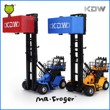 Mr.Froger Empty Container Stacker alloy car model Refined metal Engineering Construction vehicles truck Decoration Classic Toys