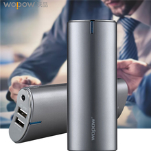 Buy WOPOW 20100mAh power bank High Capacity Mobile phone quick charge powerbank Dual USB External Battery LED light battery bank for $35.02 in AliExpress store
