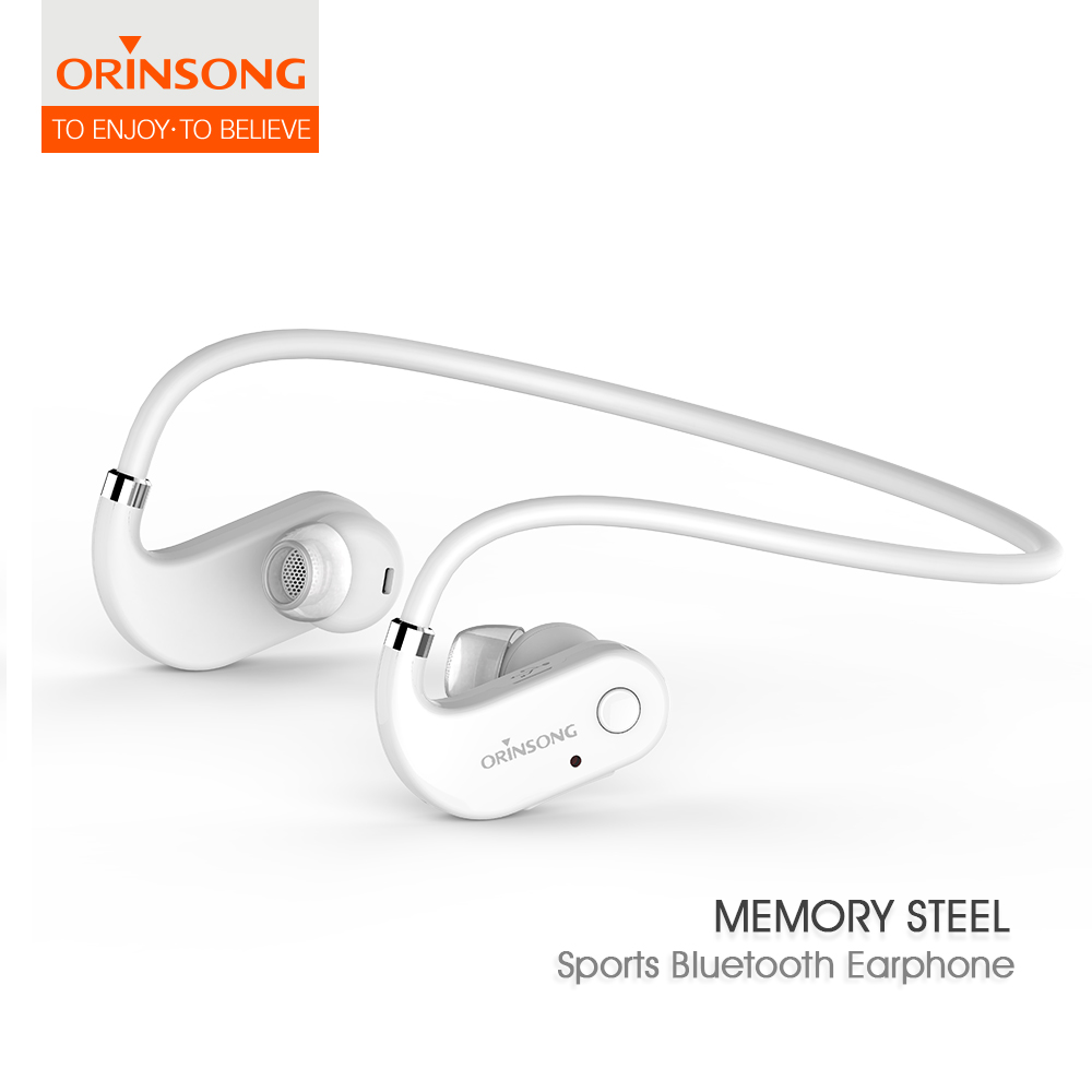 Hotsale waterproof IPX4 outdoor Sports Stereo Wireless Bluetooth 4.1 earbud Earphone neckband headphone, bluetooth earpiece<br>
