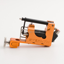 Electric Tattoo Machine Alloy Stealth 2.0 Rotary Tattoo Machine Liner Shader Orange with Box Set free shipping(China)